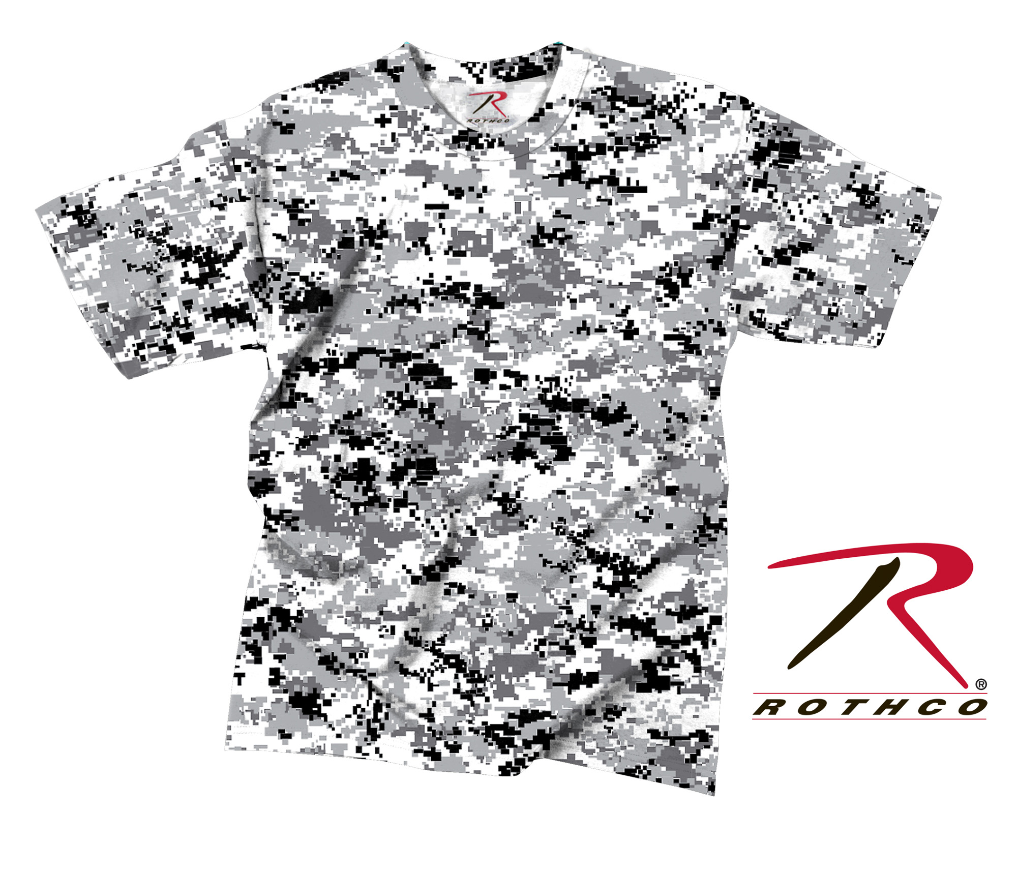 rothco t-shirt - digital city camo