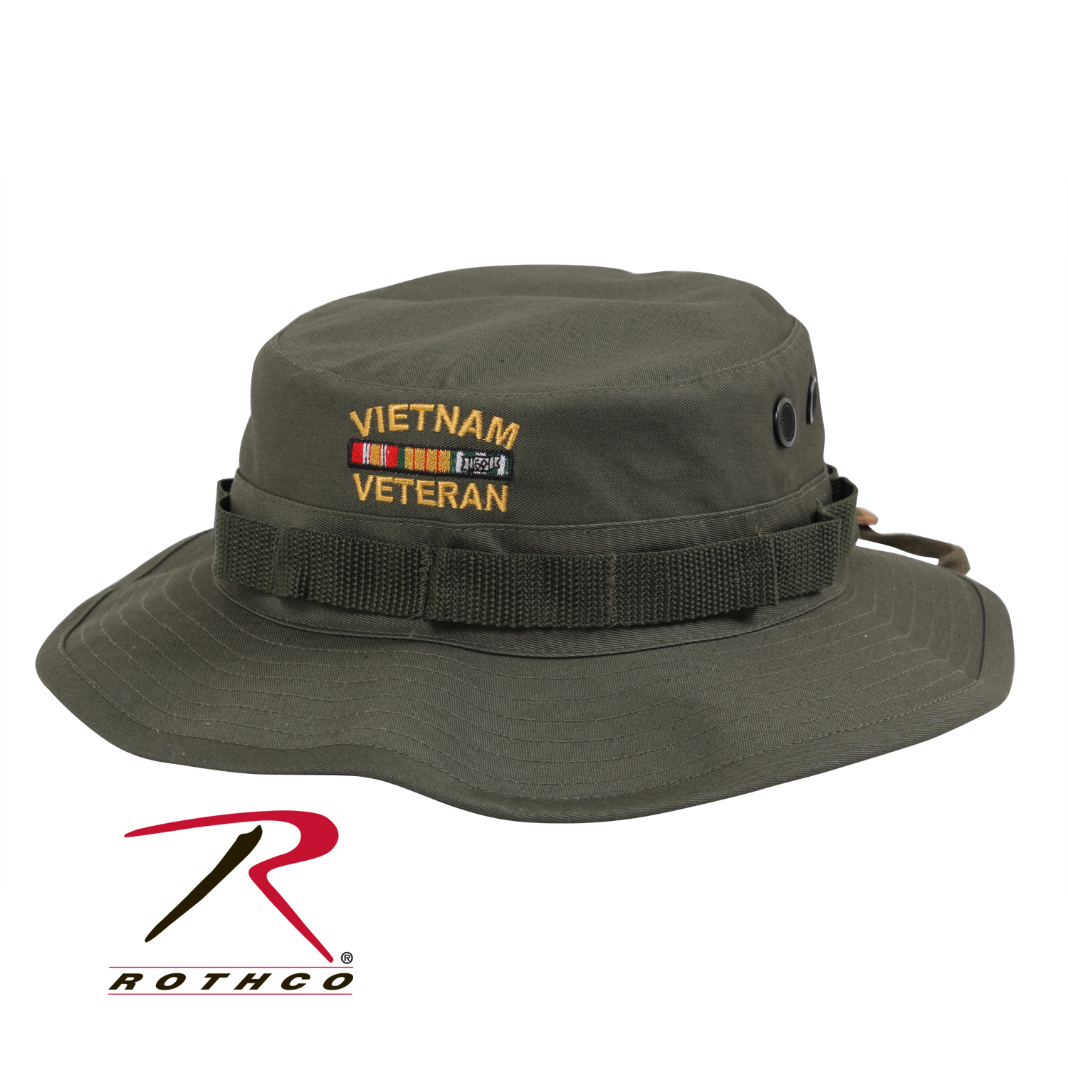 ROTHCO VINTAGE VIETNAM STYLE BOONIE HAT - OD - All Pro OutfittersAll ... dc63b46077b