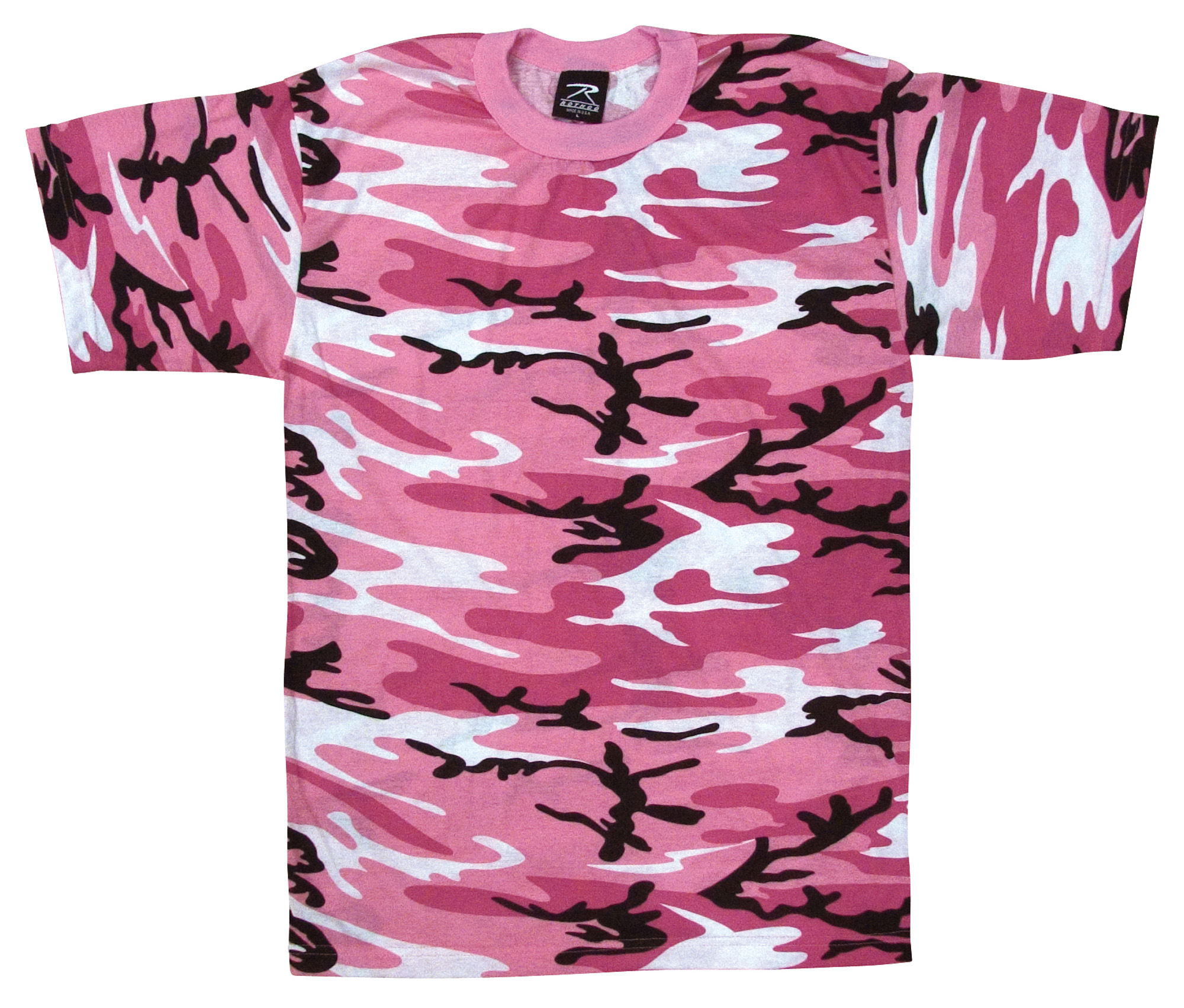 ROTHCO T-SHIRT - PINK CAMO 4X - All Pro OutfittersAll Pro ...
