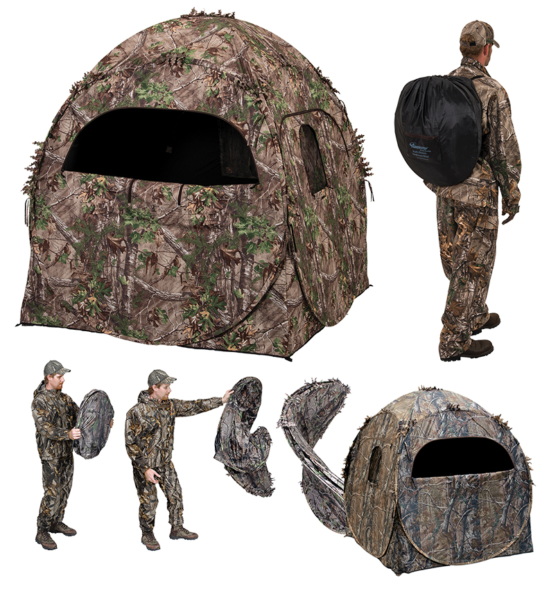 Ameristep Doghouse Blind Realtree Xtra All Pro